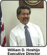 Photo of HCRC Executive Director William Hoshijo