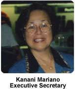 Photo of HCRC Executive Secretary Kanani Mariano
