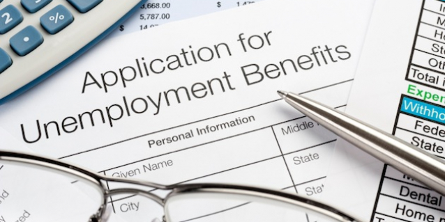 Unemployment application image