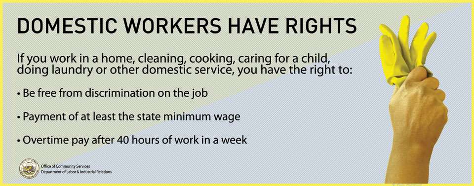 Domestic Workers Have Rights