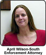 Photo of HCRC Enforcement Staff Attorney April Wilson South