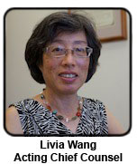 Chief Counsel Livia Wang