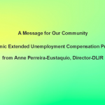 A PEUC MESSAGE FOR OUR COMMUNITY